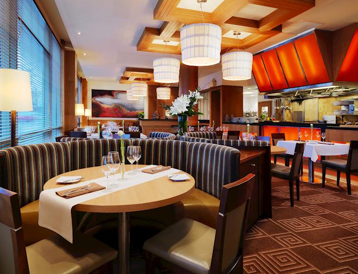 Wnętrze restauracji Fusion