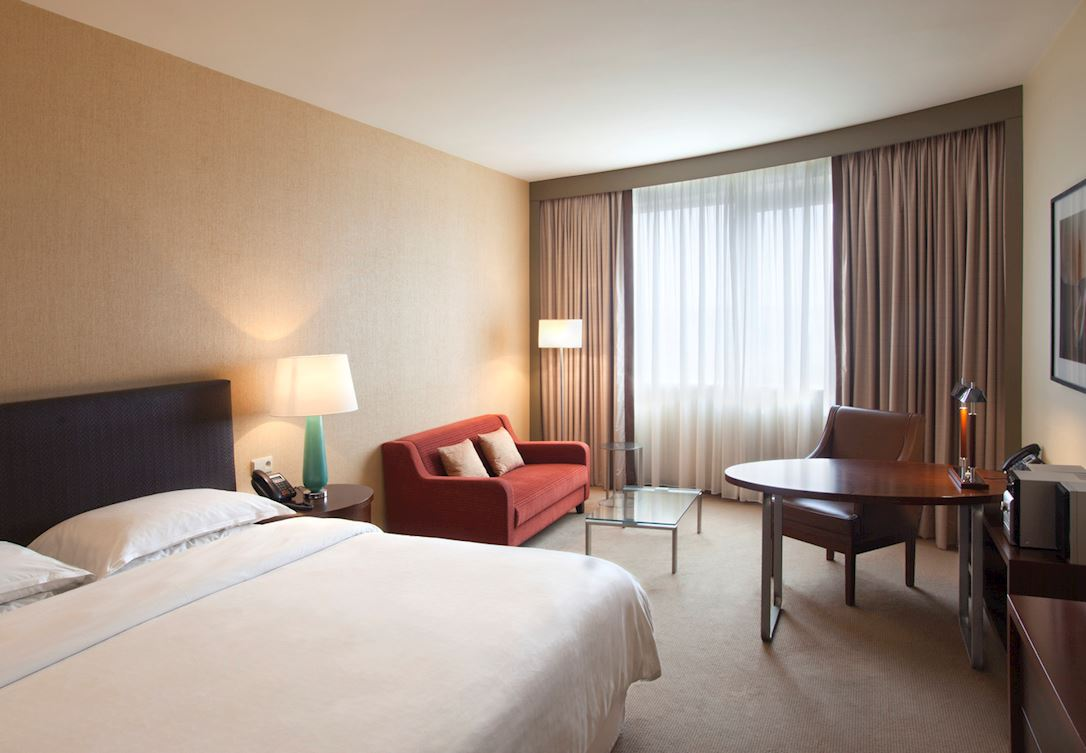 Pokój gościnny z dwoma pojedynczymi łóżkami